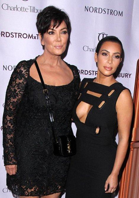 Kris Jenner a Kim Kardashian