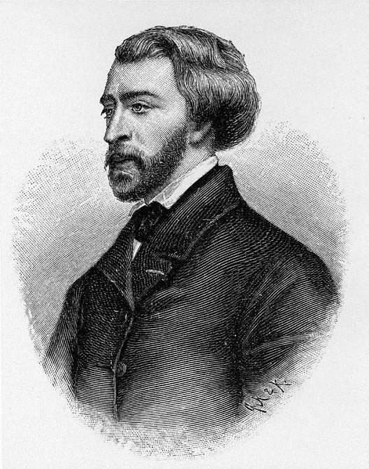 Alfred de Musset (1810-1857), francouzský spisovatel