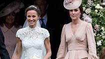 Pippa je o dva roky mladší než Kate.