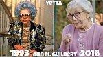 Americká herečka Ann Morgan Guilbert coby Yetta. Herečka zemřela 14. června 2016 na rakovinu.