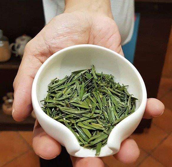 Zeleých čajů je mnoho typů.
