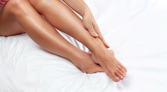 Make-up na nohy