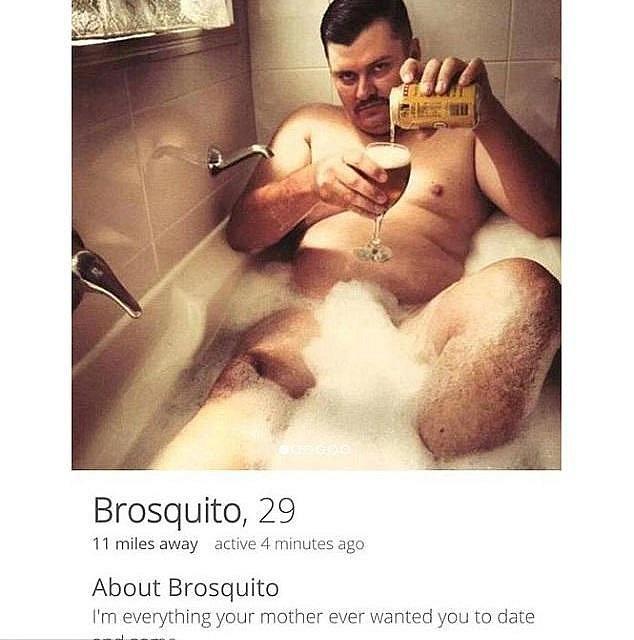 Trocha romantiky ve vaně s pivem.