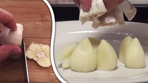 Jak nejsnáze oloupat česnek + 6 dalších zázraků, které dokážete s mikrovlnkou