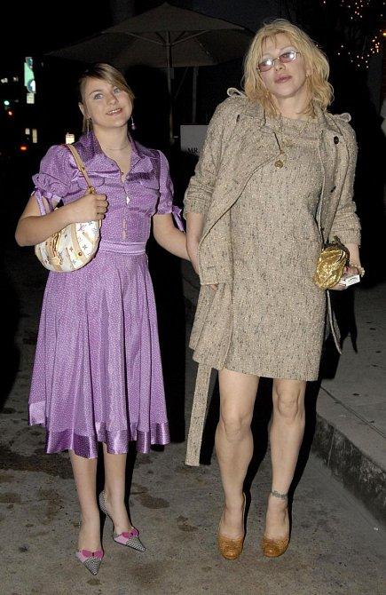 Courtney Love s dcerou Frances Bean