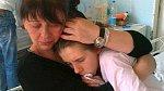 A se svou maminkou...