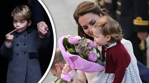 FOTOGALERIE: Nejroztomilejší snímky George a Charlotte! A je Kate skutečně opět těhotná?