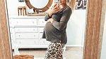 Páté těhotenství si užívala.