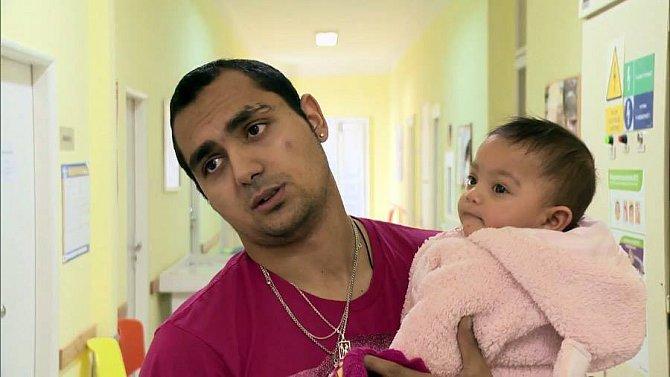 Tatínek Antonín se svou jedinou dcerou