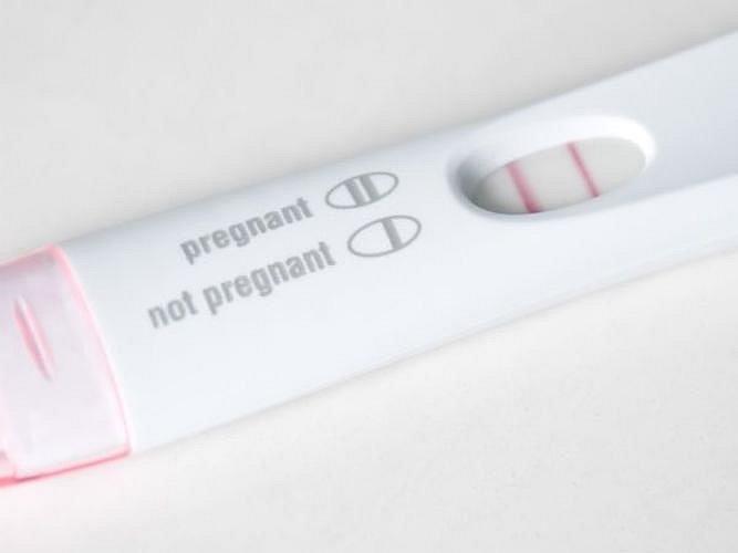 Ilustrační foto - těhotenský test