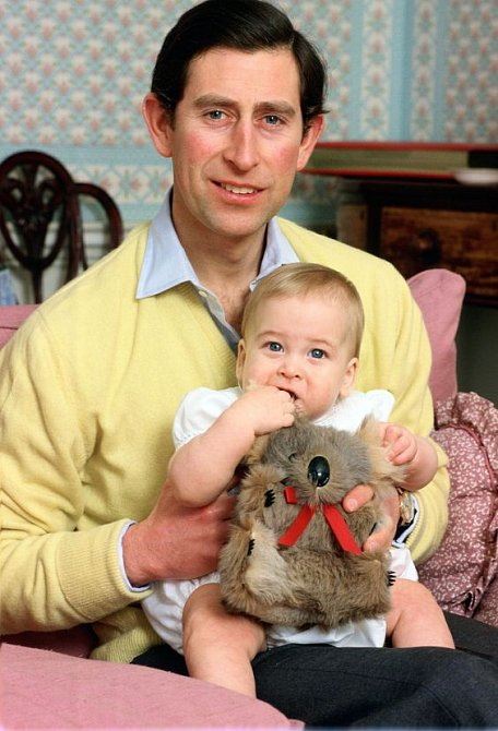 Princ Charles se synem