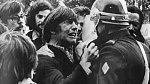 Přátelé z dětství se poznali během demonstrace v roce 1972.