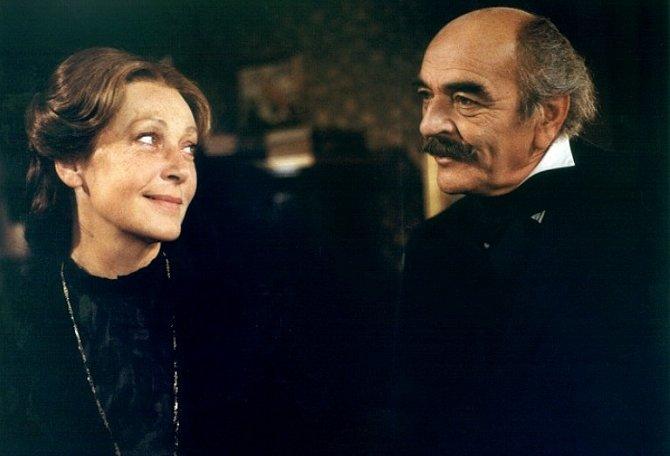 Josef Bláha s Květou Fialovou