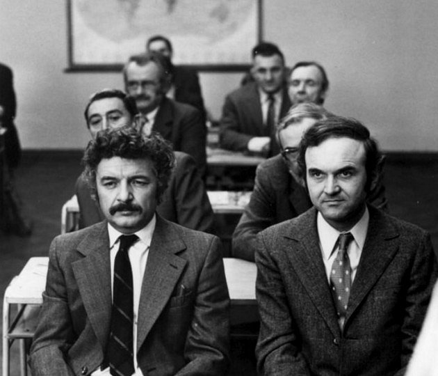 Ladislav Smoljak a Zdeněk Svěrák v komedii Marečku, podejte mi pero