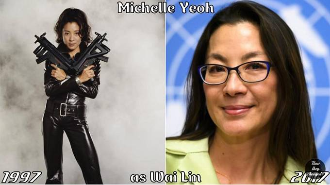 Herečka Michelle Yeoh coby Wai Lin