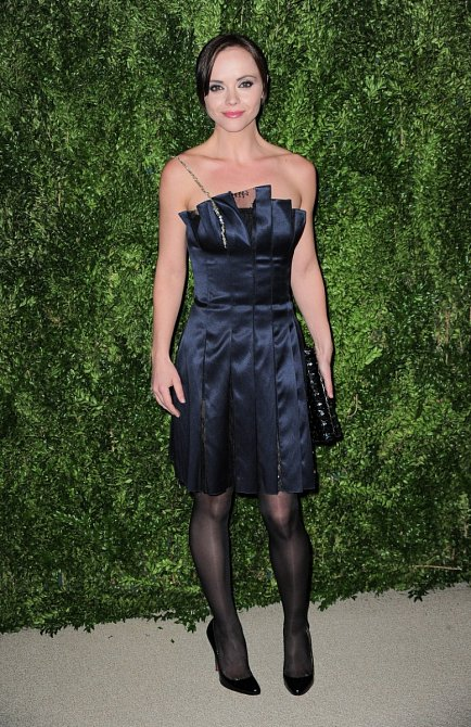 Christina Ricci často mění svůj vzhled.