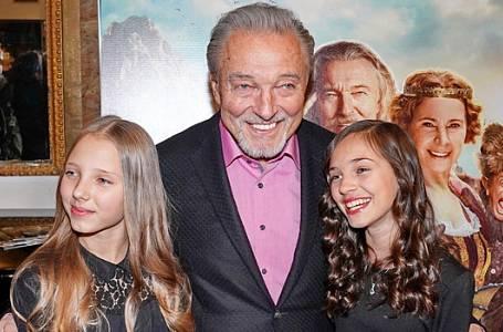 Karel Gott měl čtyři dcery