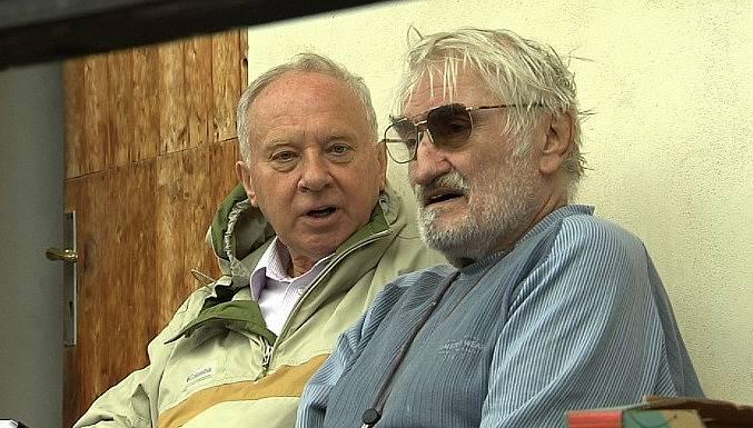 Vladimír Pucholt a Pavel Landovský po letech