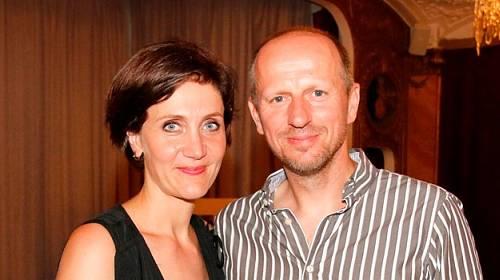Ester Janečková s mužem