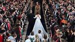 Na svatbě princezny Eugenie se sešla spousta slavných hostů.