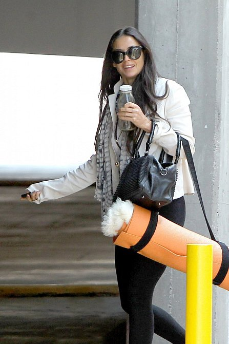 Demi Moore je v péči o vzhled i tělo velmi důsledná.