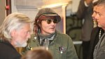 Johnny Depp dorazil do Varů.