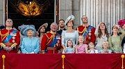 Oslava narozenin Alžběty II.