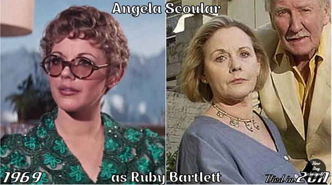 Herečka Angela Scoular coby Ruby Bartlett