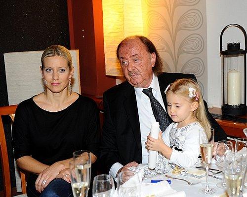 František Janeček s manželkou a dcerou
