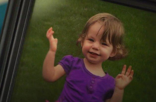 Mia byla veselá zdravá holčička.