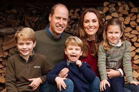 Princ William a Kate Middleton s dětmi