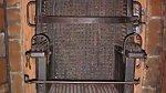 Mučící křeslo z 18. století