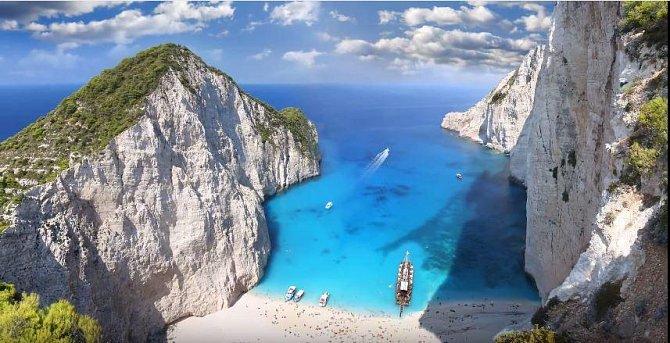Navagio, Řecko
