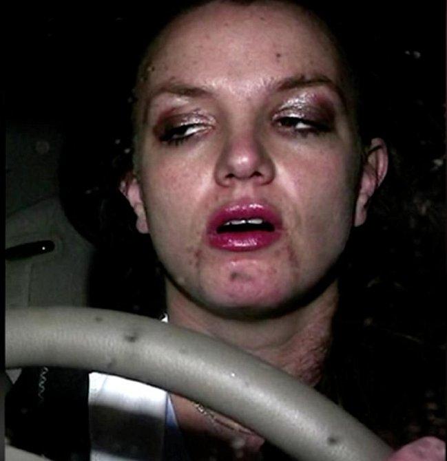 Bohužel to Britney opravdu přeháněla