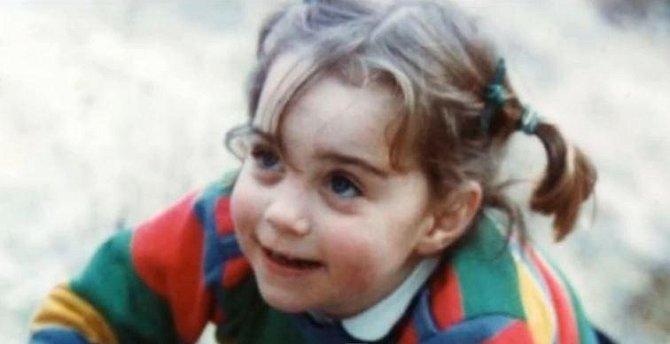 Kate přožila krásné dětství.