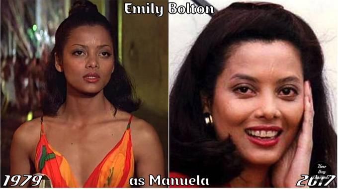 Herečka Emily Bolton coby Manuela