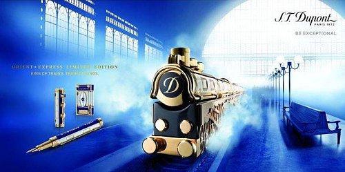 Jedněmi z prvních zákazníků S. T. Dupont byli lidé cestující Orient Expressem. K tomuto tématu se firma vrátila v novém tisíciletí s novou kolekcí.