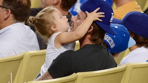 David Beckham má s dcerkou svatou trpělivost