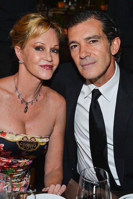 Byla vdaná za Antonia Banderase.