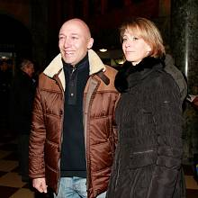 Robert Jašków s manželkou