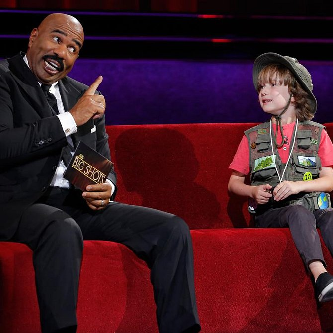 Henry byl i v talk show Sveta Harveyho.