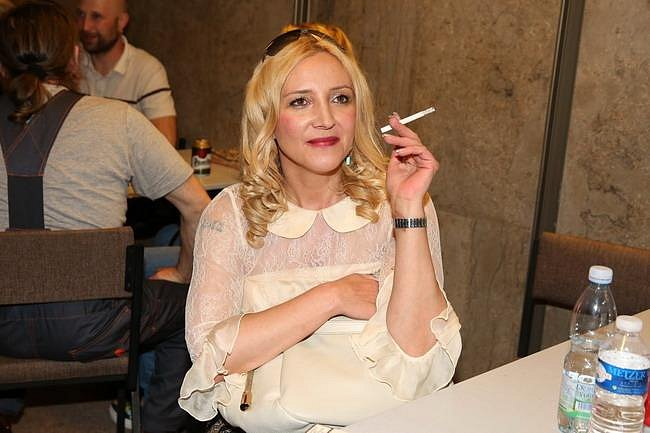 Mirjam Müller Landa, německá režisérka a scenáristka (manželka zpěváka Daniela Landy)