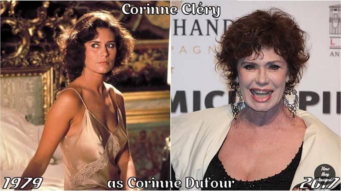 Herečka Corinne Cléry coby Corinne Dufour