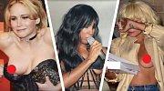 Tyto celebrity neuhlídaly svá prsa! Které se to stalo náhodou, a která to udělala schválně?