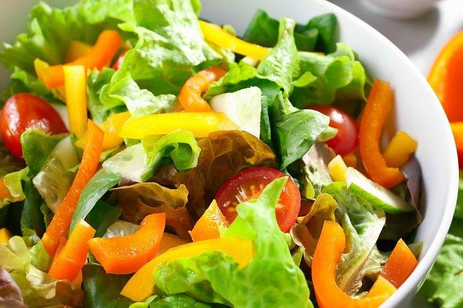 Zeleninový salát.