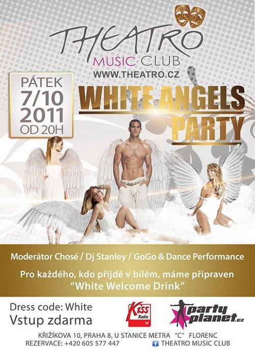 Noc bílých andělů v Theatro Music Clubu