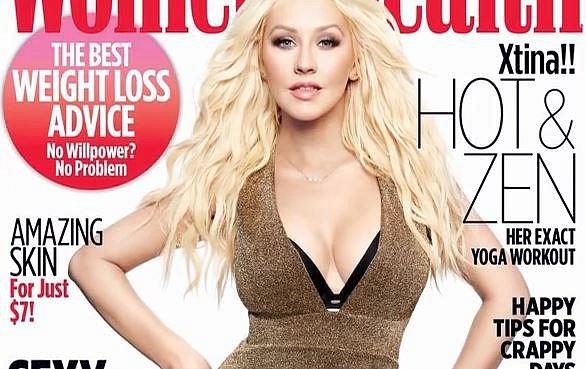Christina je ten typ, který dokáže rychle zhubnout a snad ještě rychleji přibrat.