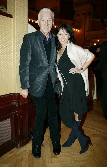 Heidi Janků se svým manželem Ivo Pavlíkem
