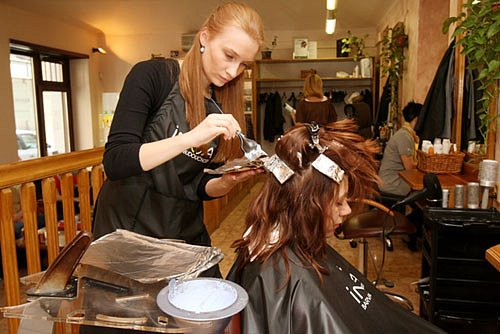 Ivana, kadeřník