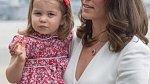 Princezna Charlotte s maminkou Kate